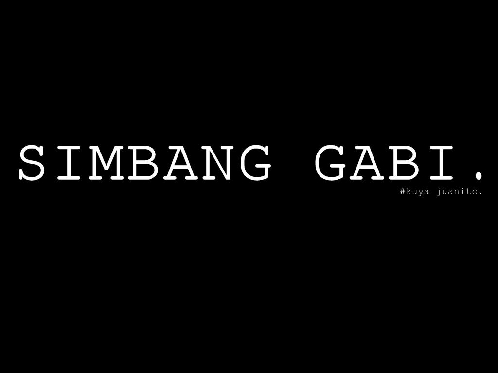 Random Note 15 Simbang Gabi Tara Magbasa Tayo